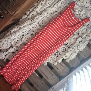 Striped Old Navy maxi dress!